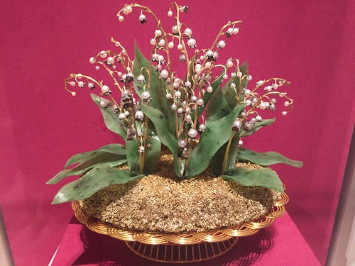THE MET FABERGE LILY OF THE VALLEY