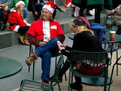 Coffee Break Santa