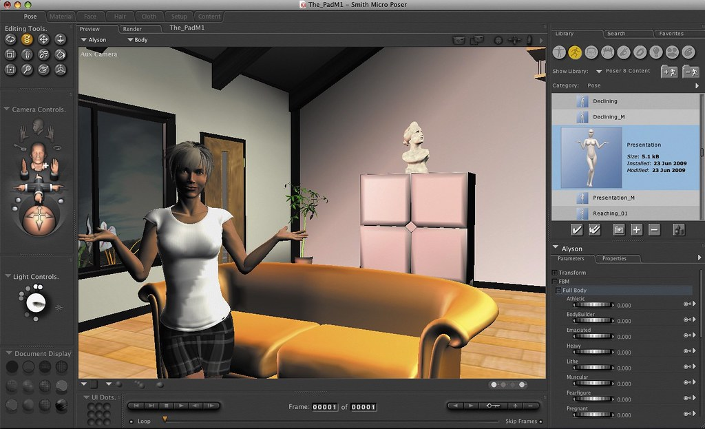 Poser Pro 11 1 1 35540 – Easily create 3D character art and