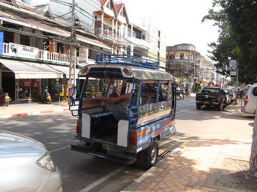 Vientiane: moi aussi j'installerais bien un hamac au bureau...
