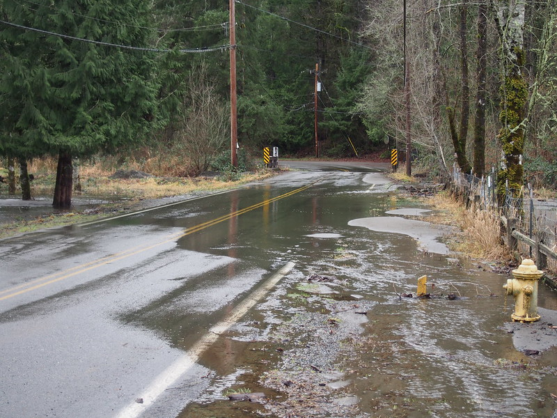Flooding on North Fork Road