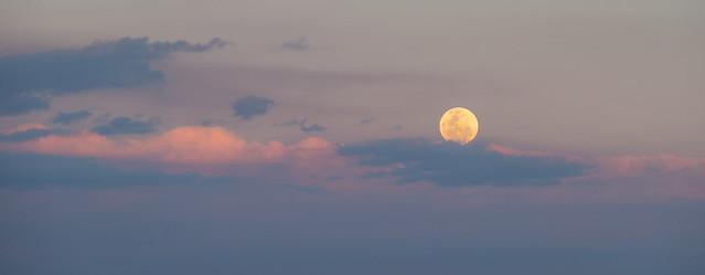 Full Moon Over Maleny