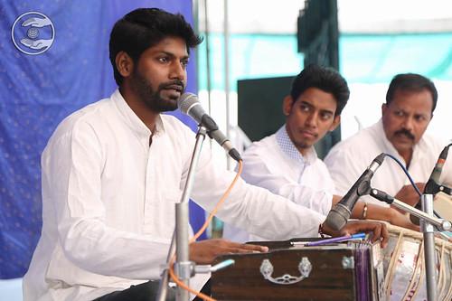 Devotional song by Deepak Anmol from Chandigarh