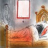 Today I rather had stayed in bed with curtain down and the sheets over the head #wakemeupinfouryears