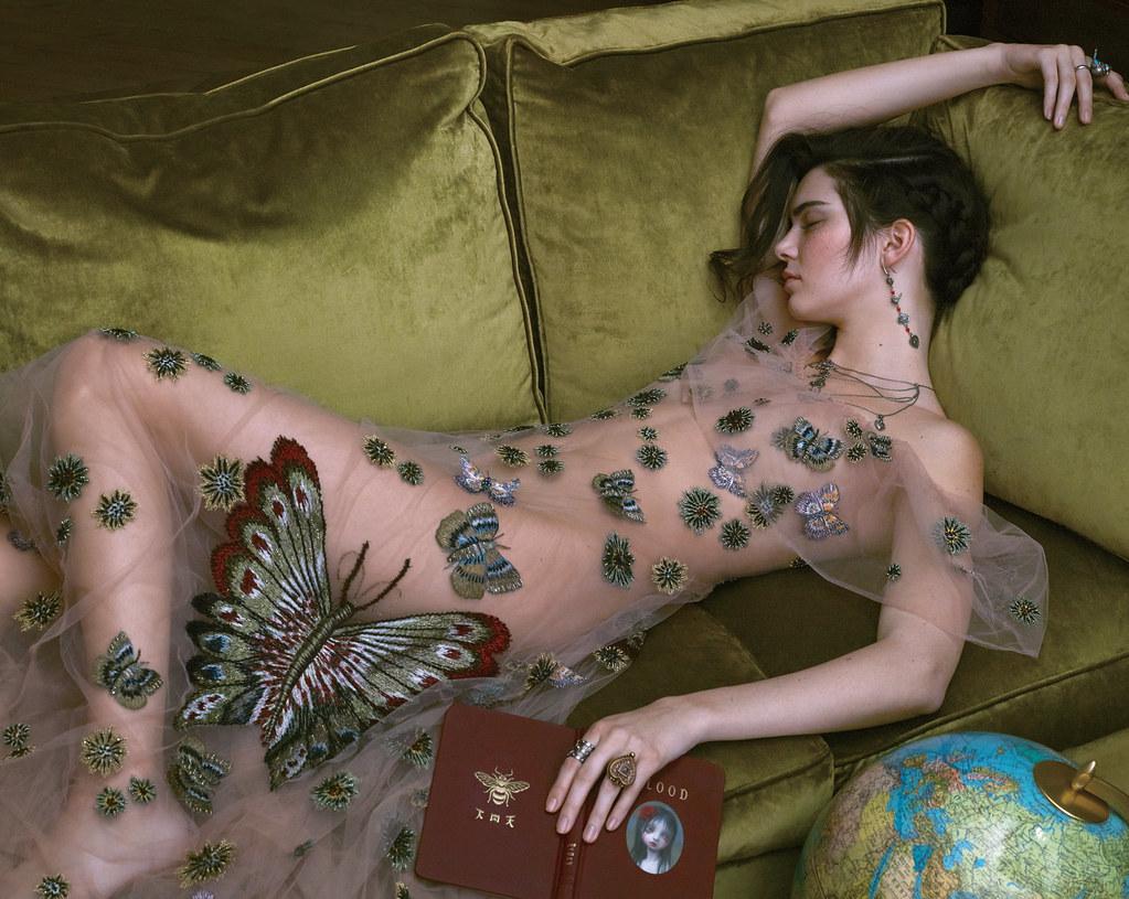 Кендалл Дженнер — Фотосессия для «Vogue» 2016 – 3