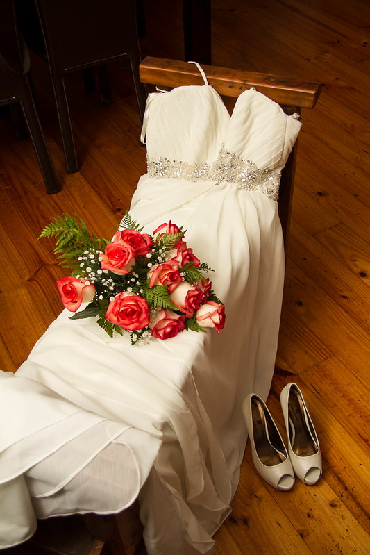 el ajuar de la novia