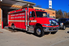Montgomery County Fire and Rescue Service Medical Support Unit