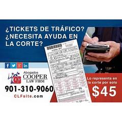 Necesitas ayuda con tus Tickets? Llámanos al (901) 310-9060 Nosotros vamos por ti! CLFsite.com