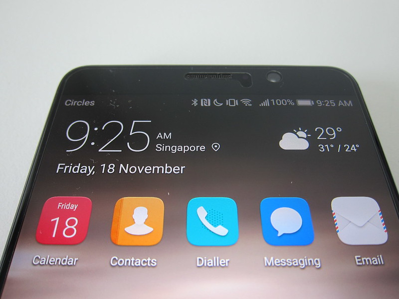 Huawei Mate 9 - Top Bezel