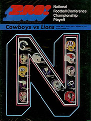 1970 NFC Divisional Playoff  Detriot Lions @ Dallas Cowboys