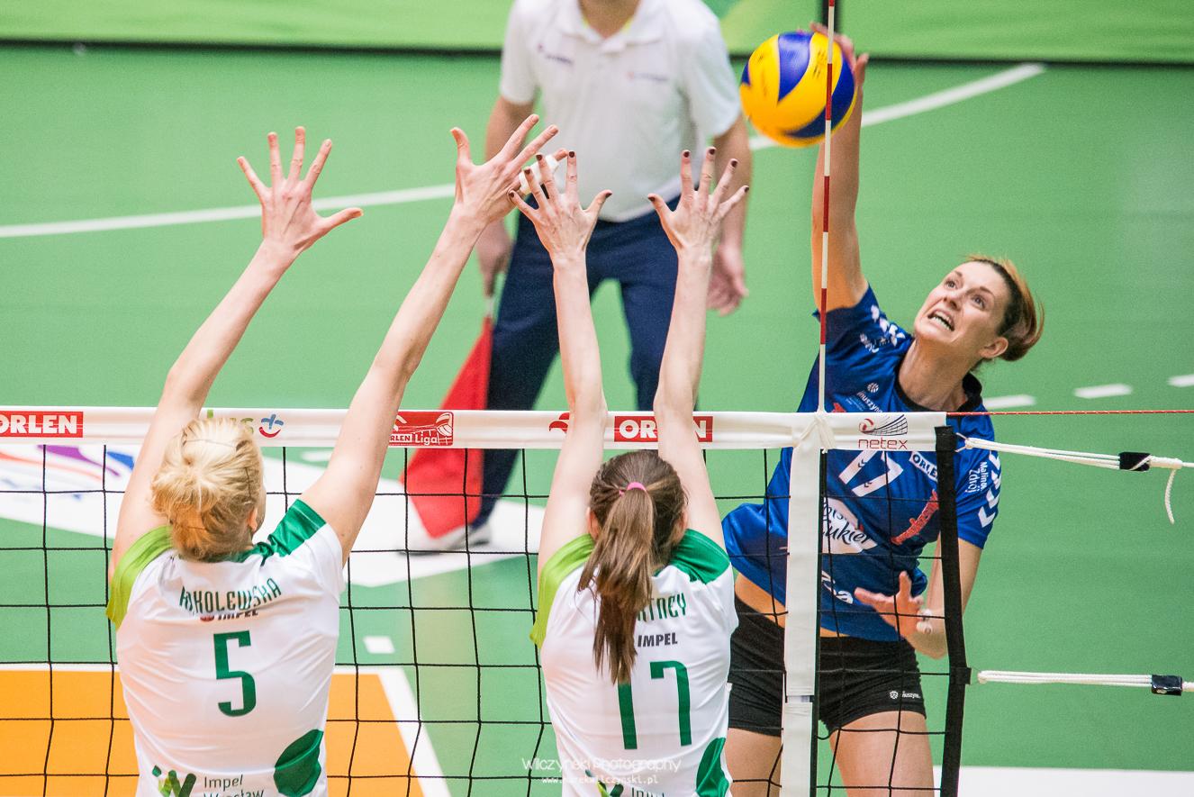 Orlen Liga: Impel Wrocław - Polski Cukier Muszynianka