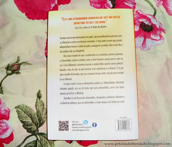 Resenha, livro, A força dos quietos, Jennifer Kahnweiler, contracapa, Gente, sinopse, introvertidos, influenciar