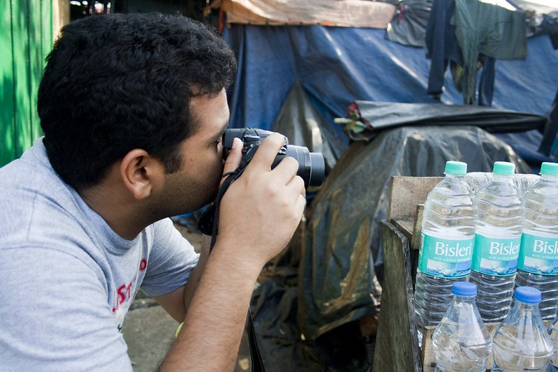 Photographer Samrat at Esplande - Kolkata, India