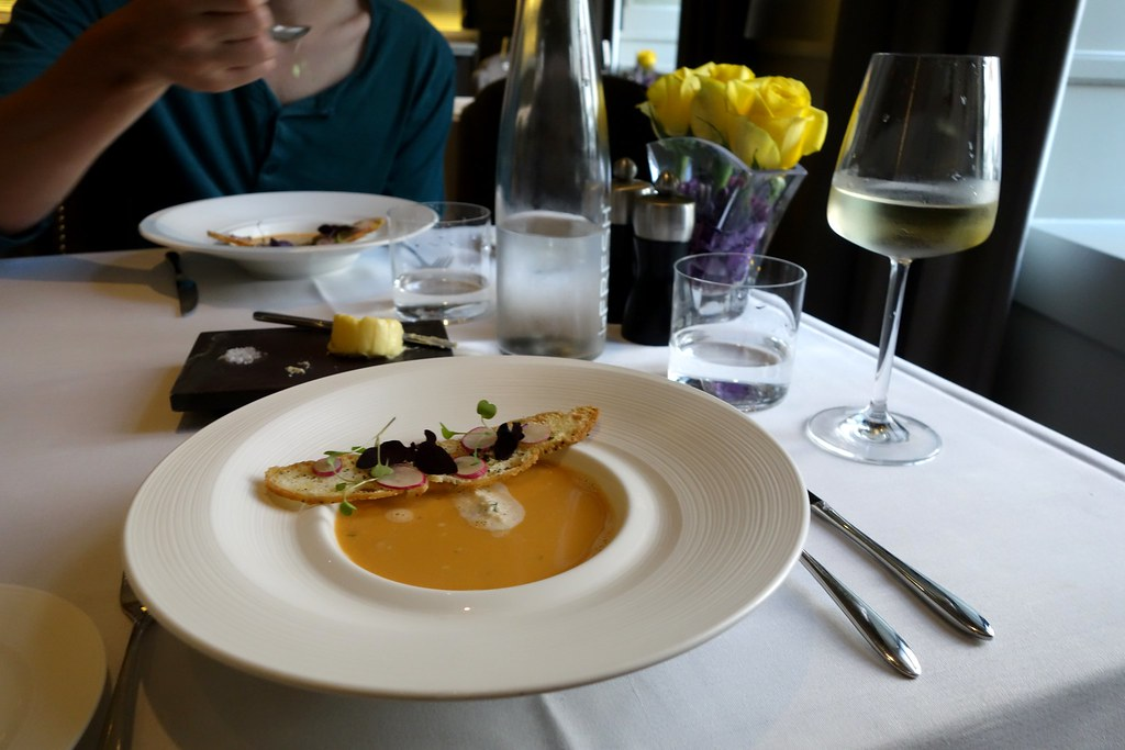 Lobster Bisque, Kona, St James Court, Taj Hotel, London