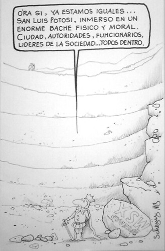 En el hoyo