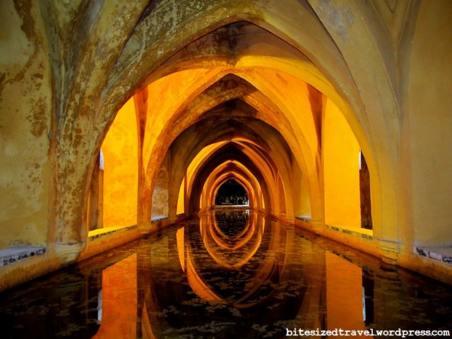 A royal bath at Real Alcazar de Sevilla