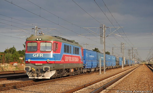 train diesel roman rail railway trains cfr sulzer electrica gfr grup romane locomotiva nd2 060da feroviar caile ferate lde2100