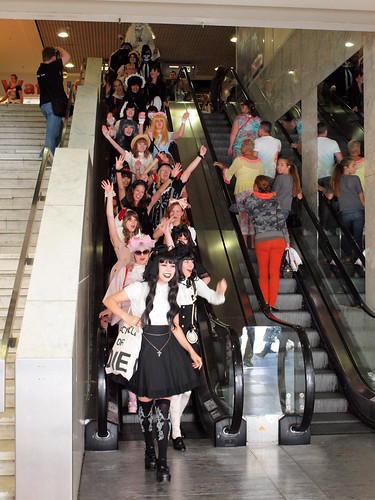Down the Escalator