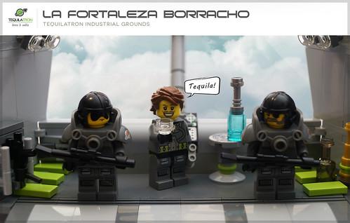 La Fortaleza Borracho - Tequilatron Industrial grounds