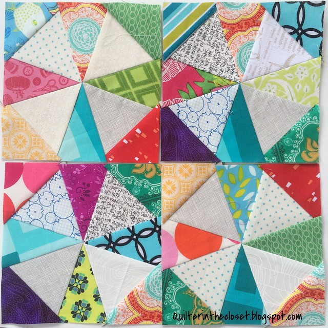 Kaleidoscope blocks for Katie