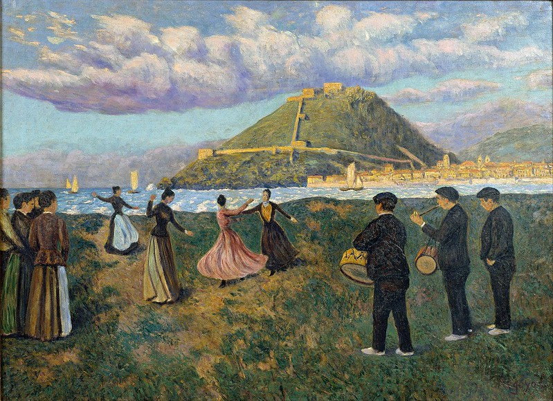 Darío de Regoyos - Basque Celebration (c.1890)
