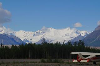 129 Uitzicht vliegveld McCarthy