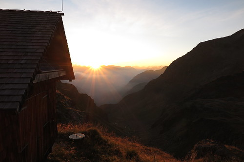 summer mountain alps sunrise austria tirol österreich sommer cottage hütte hike berge alpen sonnenaufgang aut wanderung walkingtour zauche berghütte bergwanderung wangenitzseehütte petzeck 13092015 september2015