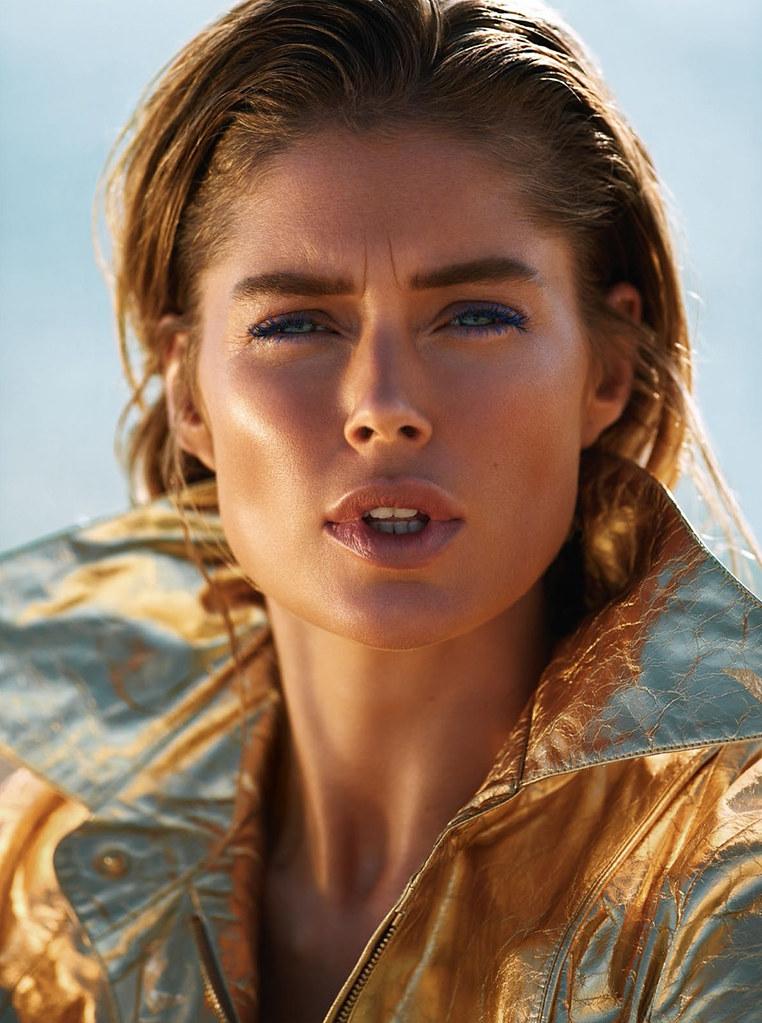 Даутцен Крус — Фотосессия для «Vogue» FR 2015 – 4