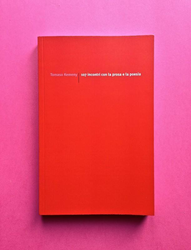 Edizioni del Verri / Collana rossa. Progetto grafico di Valerio Anceschi e Giovanni Anceschi. Una copertina (part.), 2