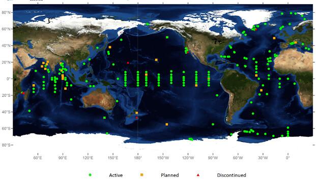海上浮標分布(2)