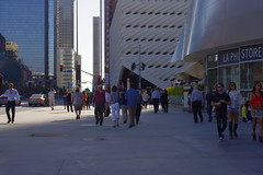 Crowds To & From The Broad