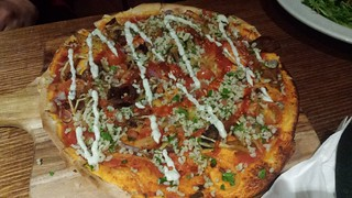 Souvlaki Pizza from Cornish Arms