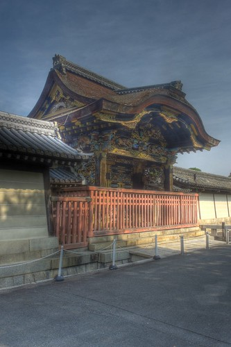 Hongan-ji Temple (West or Ryukoku) at Kyoto on OCT 30, 2015 (13)