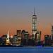 Manhattan skyline by A.G. Photographe