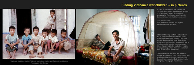 Finding Vietnam's war children – in pictures - THÀNH & CƯỜNG