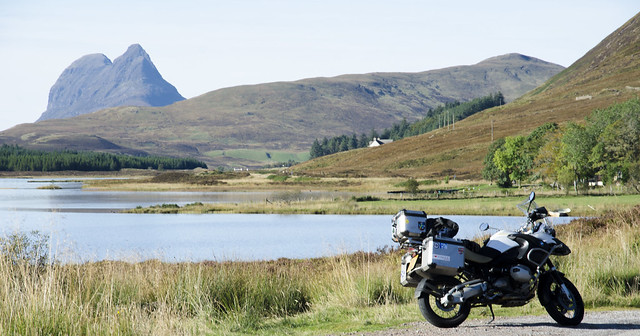 Suilven and my GS.