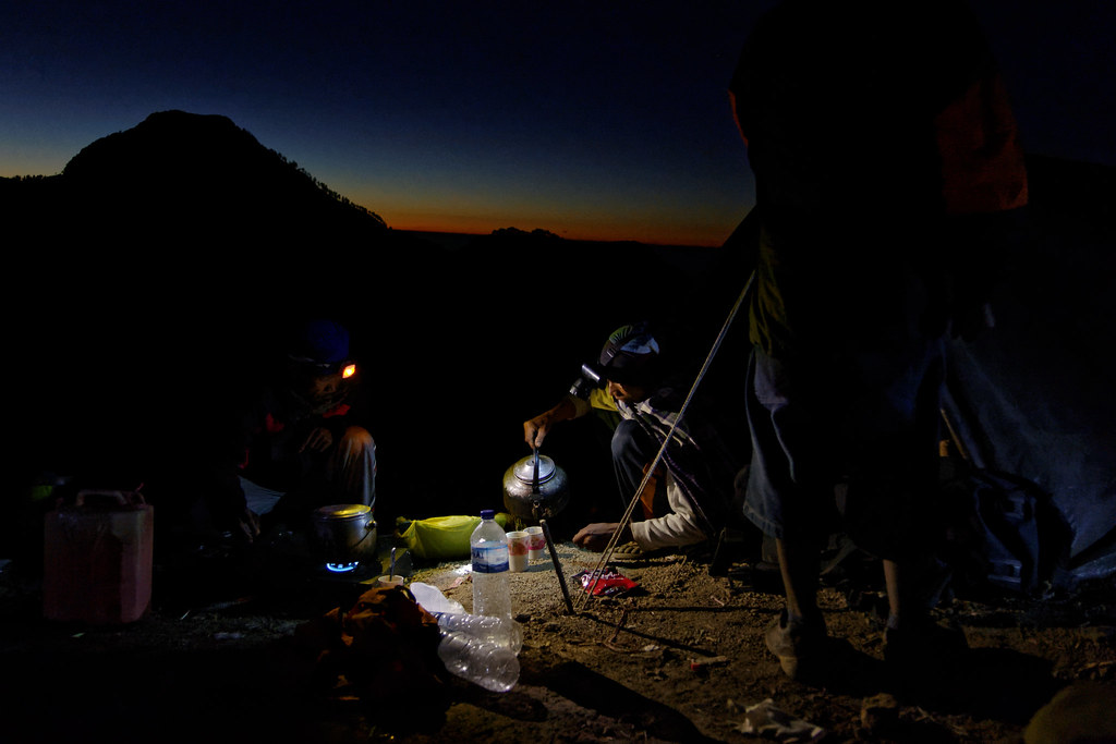 Rinjani Camp - day 1