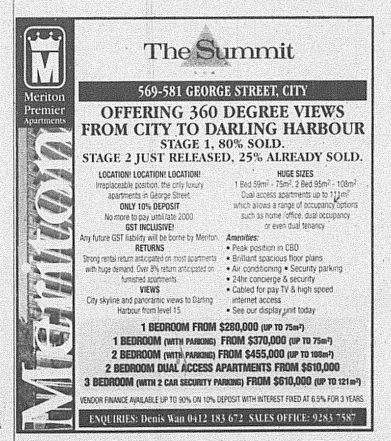 The Summit June 10 2000 SMH Domain 20A