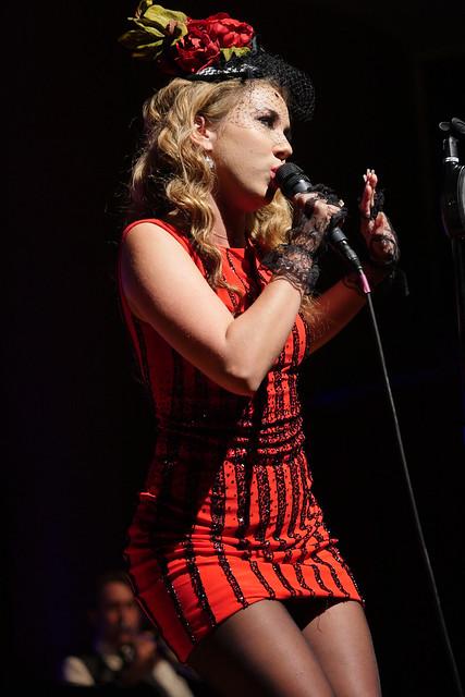 Haley Reinhart of Postmodern Jukebox