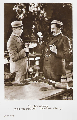 Ramon Novarro and Jean Hersholt in The Student Prince of Old Heidelberg (1927)