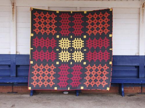 Welsh Blanket Quilt - Caernarfon