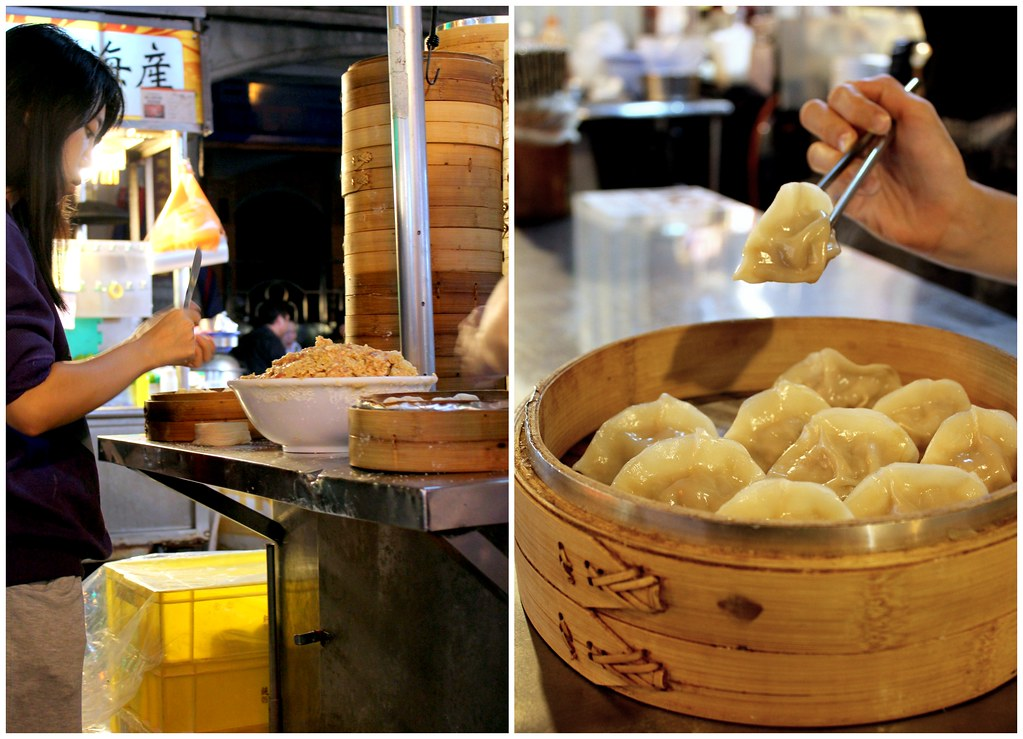 Taipei Night Market Trail: Ningxia Night Market wrap dumpling
