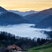 Swiss alps_sunset