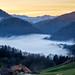 Swiss alps_sunset