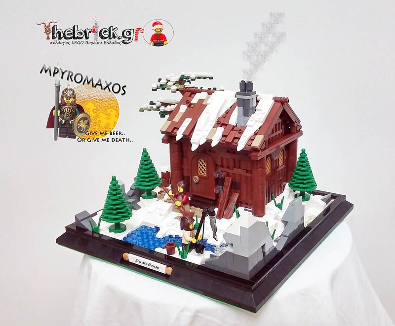"[BuildtheBrick #2]: ""Greenland Santa House"" 23444356230_8d5e673638_c"