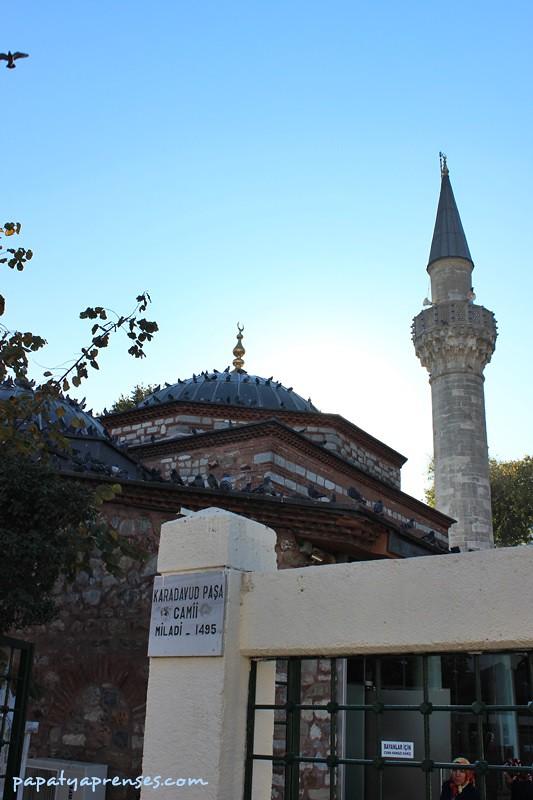 üsküdar turu/karadavud paşa camii