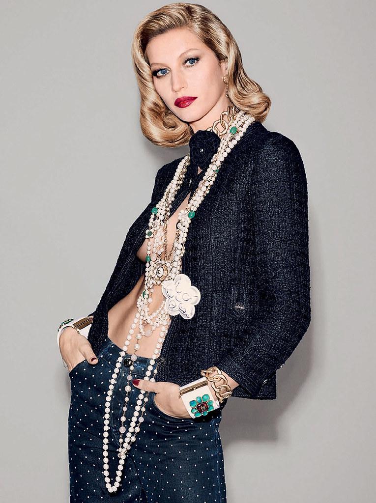 Жизель Бюндхен — Фотосессия для «Vogue» BR 2015 – 6