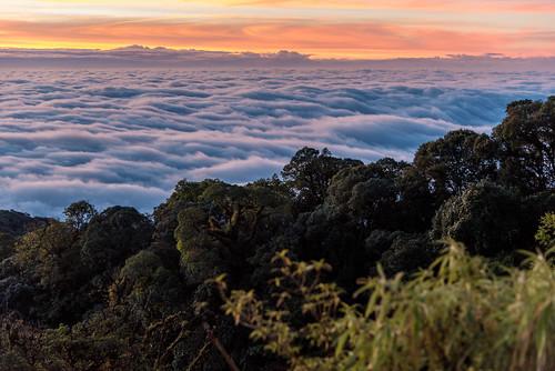 clouds sunrise landscape thailand nikon changwatchiangmai tambonbanluang