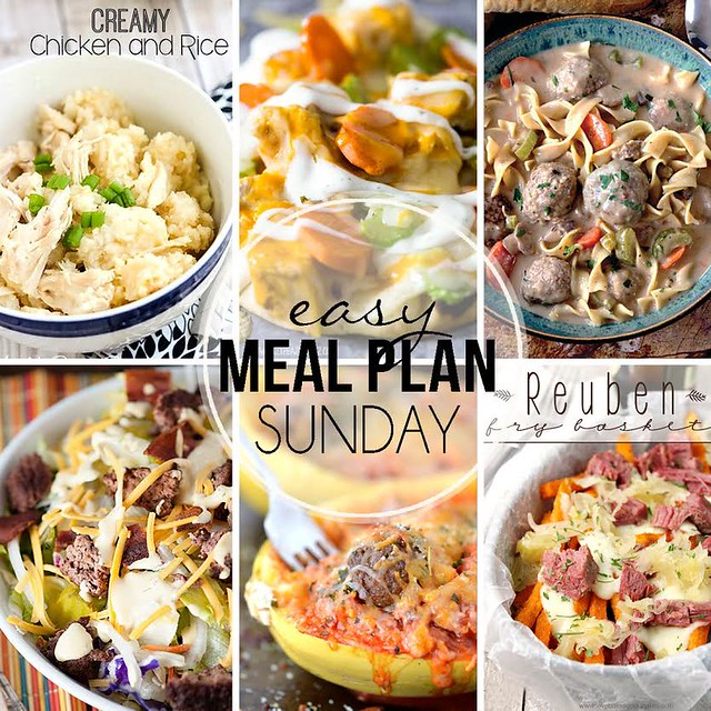 Week 28. Collaborative weekly meal planning. 9 bloggers. 6 dinner ideas, one-weekend breakfast plus 2 desserts every single week equals one heck of a delicious menu!