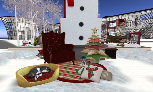 BOSL Hunt Silly Snowman: Cozy Kitty